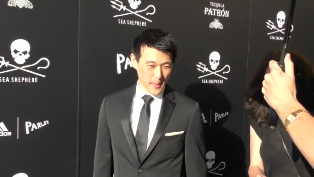 james chen at the sea shepherd conservation society's 40th anniversary gala for the oceans at montage beverly hills on june 10 2017 in beverly hills... - montage beverly hills stock videos & royalty-free footage