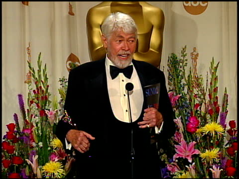 james coburn at the 1999 academy awards at the shrine auditorium in los angeles, california on march 21, 1999. - james coburn stock videos & royalty-free footage