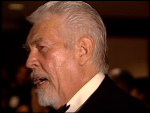 james coburn at the 2000 producers guild of america awards at century plaza in century city, california on march 3, 2000. - james coburn stock videos & royalty-free footage
