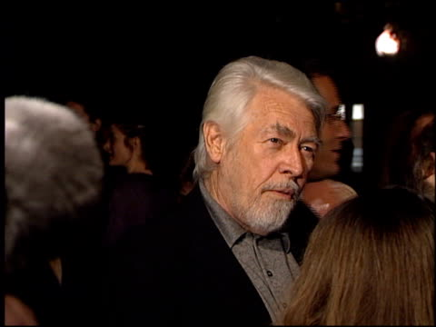 james coburn at the 'payback' premiere at paramount studios in hollywood, california on january 28, 1999. - james coburn stock videos & royalty-free footage