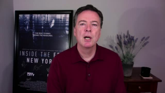 james comey interview; england: int james comey 2-way interview via internet sot. - on whether he wants donald trump to be convicted by the senate /... - politics stock videos & royalty-free footage