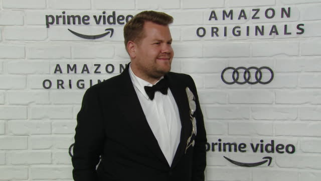 james corden at amazon prime video post emmy awards party 2019 at chateau marmont on september 22 2019 in los angeles california - after party stock videos & royalty-free footage