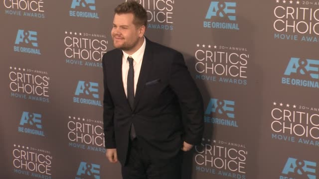James Corden at the 20th Annual Critics' Choice Awards at Hollywood Palladium on January 15 2015 in Los Angeles California