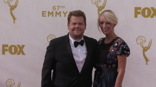 James Corden at the 67th Annual Primetime Emmy Awards at Microsoft Theater on September 20 2015 in Los Angeles California
