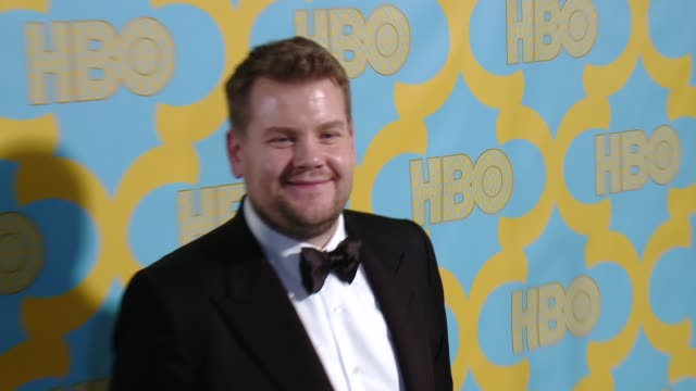James Corden at the HBO's Post 2015 Golden Globe Awards Party at The Beverly Hilton Hotel on January 11 2015 in Beverly Hills California