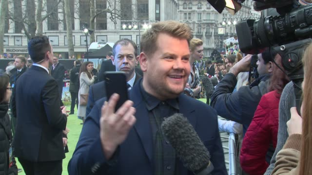 James Corden at Vue West End on March 11 2018 in London England