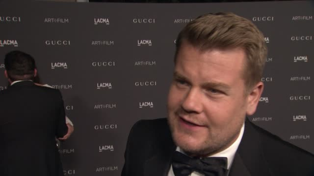INTERVIEW James Corden on being out tonight On what he loves about LACMA On the importance of supporting art and film On how his experience was...