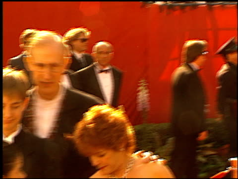 vídeos de stock, filmes e b-roll de james cromwell at the 1996 academy awards arrivals at the shrine auditorium in los angeles california on march 25 1996 - 1996