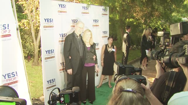 James Cromwell at the Ellen DeGeneres and Portia De Rossi host Yes On Prop 2 party at Los Angeles CA