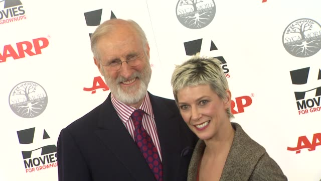 James Cromwell Patricia Ward Kelly at AARP Magazine's 11th Annual Movies For Grownups Awards Gala on 2/6/12 in Beverly Hills CA