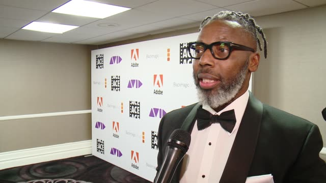 INTERVIEW James D Wilcox on what does this award mean to him at 68th Annual ACE Eddie Awards in Los Angeles CA