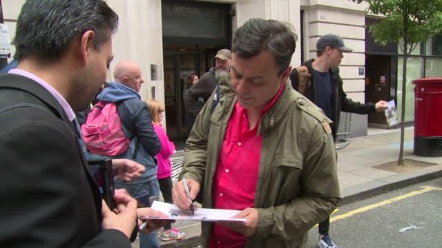 james dean bradfield on june 03, 2016 in london, england. - manic street preachers stock videos & royalty-free footage