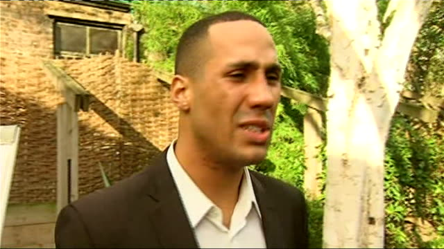 james degale and frankie gavin turn professional england london ext james degale giving interviews james degale interview sot talks of his aims /... - joker card stock videos and b-roll footage