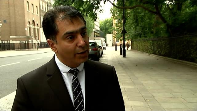 stockvideo's en b-roll-footage met haras rafiq interview england london ext haras rafiq interview sot - onthoofd