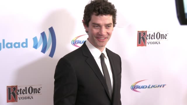 james frain at the 25th annual glaad media awards at the beverly hilton hotel on april 12 2014 in beverly hills california - the beverly hilton hotel stock-videos und b-roll-filmmaterial