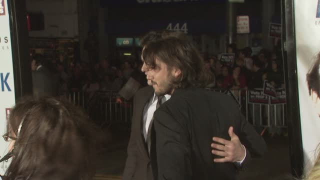 James Franco and Diego Luna at the MILK premiere at San Francisco CA