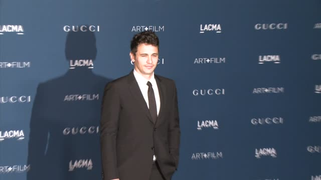 James Franco at LACMA Hosts 2013 Art Film Gala Honoring David Hockney And Martin Scorsese Presented By Gucci in Los Angeles CA