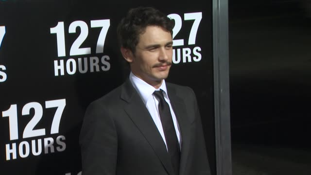 James Franco at the '127 Hours' Premiere at Beverly Hills CA
