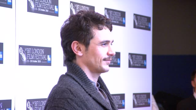 James Franco at the 127 Hours Press Conference 54th BFI London Film Festival at London England