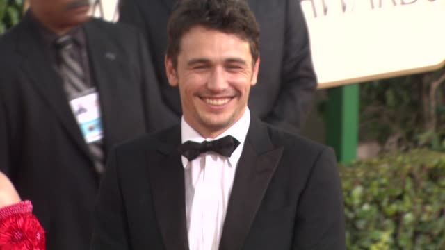 James Franco at the 68th Annual Golden Globe Awards Arrivals Part 2 at Beverly Hills CA