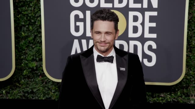 James Franco at the 75th Annual Golden Globe Awards at The Beverly Hilton Hotel on January 07 2018 in Beverly Hills California