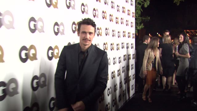 James Franco at the GQ's 'Men Of The Year' Party at Los Angeles CA