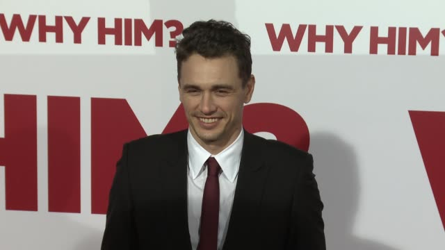 James Franco at the Why Him World Premiere at Regency Bruin Theater on December 17 2016 in Westwood California