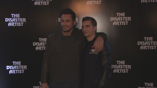 James Franco Dave Franco at 'The Disaster Artist' Screening at Picturehouse Central on November 22 2017 in London England