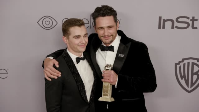 James Franco Dave Franco at the Warner Bros Pictures and InStyle Host 19th Annual PostGolden Globes Party at The Beverly Hilton Hotel on January 7...