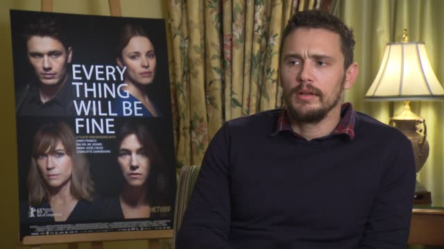 INTERVIEW James Franco on his character Tomas Eldan understanding the characters pain writing his own stuff at 'Every Thing Will Be Fine' Interview...