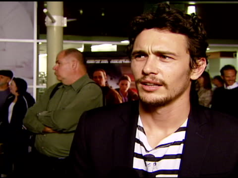 James Franco on why he wanted to be in this film and the film's message at the 'In the Valley of Elah' Premiere at Arclight Cinemas in Hollywood...