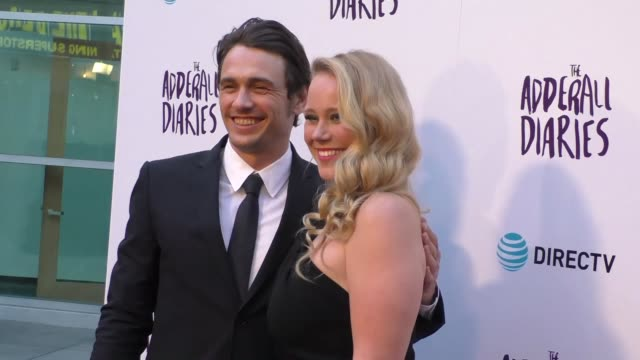 James Franco Pamela Romanowsky at the A24/DIRECTV's The Adderall Diaires Premiere at ArcLight Theatre in Hollywood in Celebrity Sightings in Los...