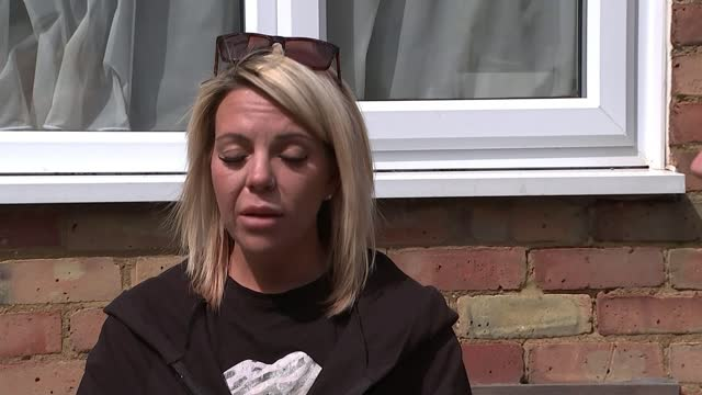 father of four stabbed closed to his home as trying to help man; england: essex: laindon: ext amy wiggins interview sot louise lindfield interview... - crime and murder stock videos & royalty-free footage