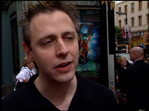 James Gunn at the 'ScoobyDoo' Premiere at Grauman's Chinese Theatre in Hollywood California on June 8 2002