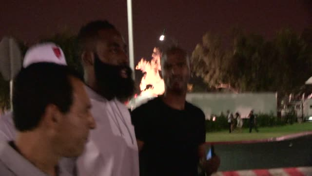reputable site 2106e 5b39f James Harden & friends depart the Jay-Z & Beyonce On The Run ...