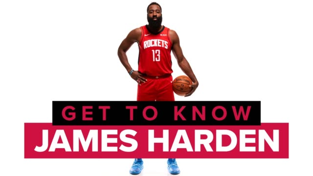 james harden is a guard for the houston rockets and one of the best shooters in the history of the national basketball association get to know the... - basketball sport stock videos & royalty-free footage