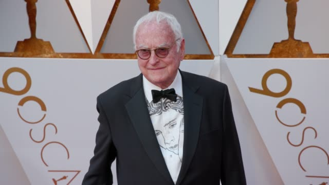 james ivory at 90th academy awards arrivals 4k footage at dolby theatre on march 04 2018 in hollywood california - 90th annual academy awards stock videos & royalty-free footage