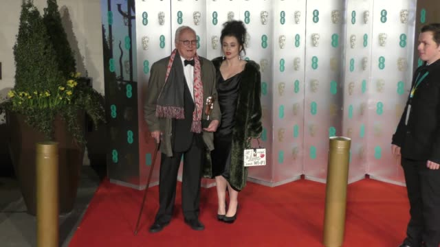 james ivory helena bonham carter on february 18 2018 in london england - call me by your name stock videos & royalty-free footage