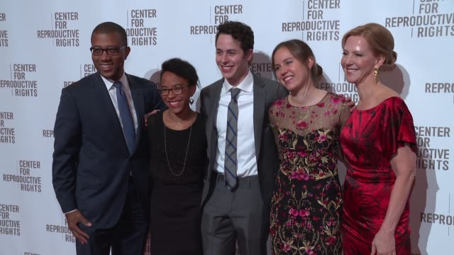 James Johnson Abby Johnson Miles Bergner Natalie Bergner and Nancy Northup at Center For Reproductive Rights Gala at Jazz at Lincoln Center on...