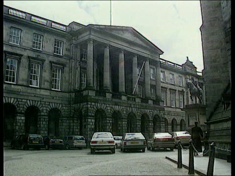 edinburgh court of session gvs court building - abortion stock videos and b-roll footage