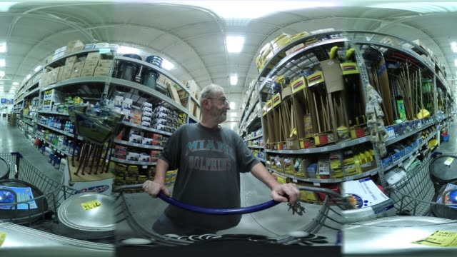'James Kelly shops at a Lowe's store on the day the company reported a rise in earnings on March 1 2017 in Hialeah Florida Lowe's reported...