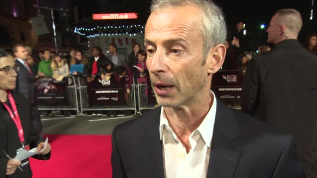 interview james kent on living up to the story how much the world has changed since ww1 and the film not being a war movie at 'testament of youth'... - odeon leicester square stock videos and b-roll footage