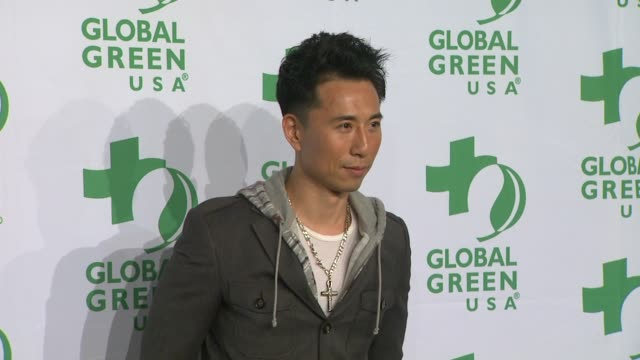 james kysonlee at global green usa's 9th annual preoscar party on 2/21/12 in hollywood ca - oscar party stock-videos und b-roll-filmmaterial