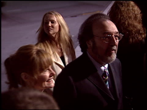 james l brooks at the 'spanglish' premiere on december 9 2004 - spanglish stock videos & royalty-free footage