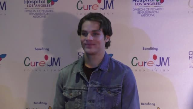 james lastovic at the annual children's hospital los angeles holiday party and toy drive at avalon nightclub in hollywood at celebrity sightings in... - children's hospital stock videos & royalty-free footage