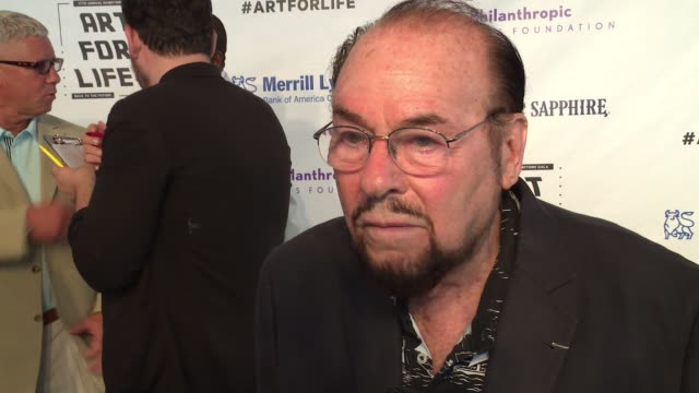 interview james lipton says the future should includes arts education and stresses it's importance russell simmons rush philanthropic arts... - bridgehampton stock videos & royalty-free footage