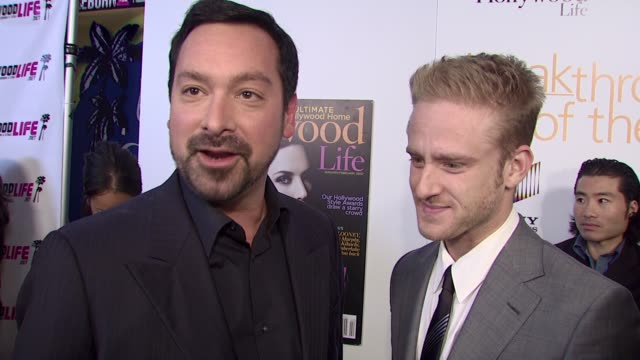 james mangold and ben foster on what they're doing at the event tonight ben foster on attending the event and on how it feels to be recognized as a... - ben foster actor stock videos and b-roll footage