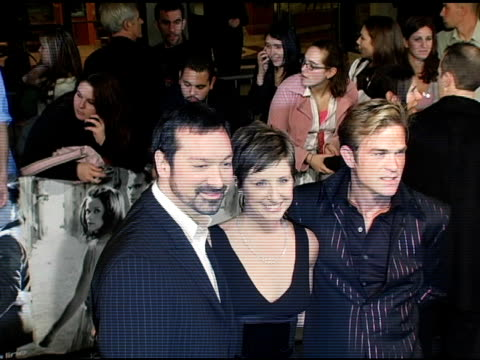 James Mangold and Cathy Konrad at the 'Walk The Line' New York Premiere at the Beacon Theater in New York New York on November 13 2005