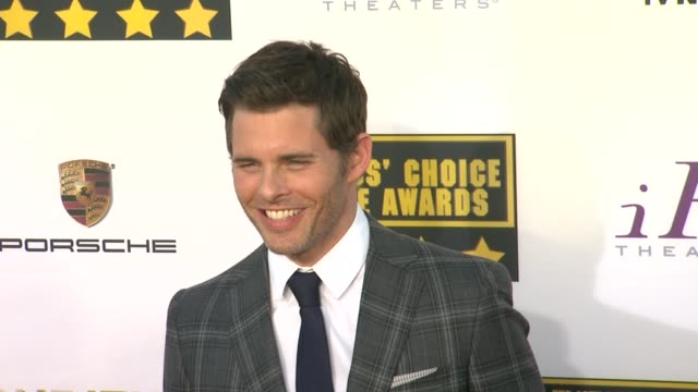 James Marsden at 19th Annual Critics' Choice Movie Awards Arrivals at The Barker Hanger on in Santa Monica California