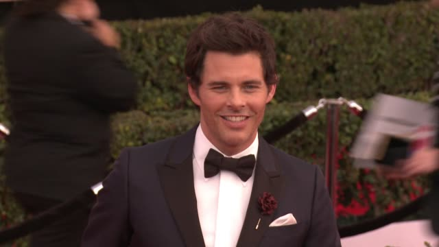 James Marsden at 23rd Annual Screen Actors Guild Awards Arrivals at The Shrine Expo Hall on January 29 2017 in Los Angeles California